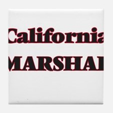 California Marshal Tile Coaster