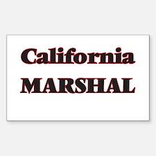 California Marshal Decal