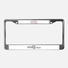 God Bless Texas! License Plate Frame