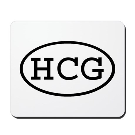 HCG Oval Mousepad