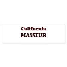 California Masseur Bumper Bumper Sticker