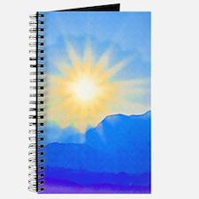 Watercolor Sunrise Journal