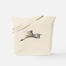 Helaine's Soaring Egret Tote Bag