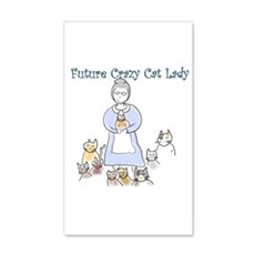 Futurecatlady.png Wall Decal