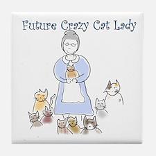 Futurecatlady.png Tile Coaster