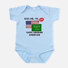 Kiss Me Im Saudi Arabian American Body Suit