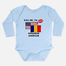 Kiss Me Im Romanian American Body Suit
