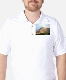 Welsh mountain and rainbow T-Shirt