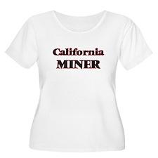 California Miner Plus Size T-Shirt