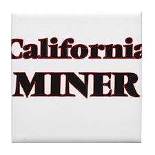 California Miner Tile Coaster