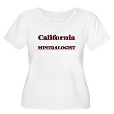 California Mineralogist Plus Size T-Shirt
