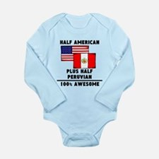 Half Peruvian 100% Awesome Body Suit