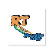 RT Respiratory Therapy Breathe Easy Sticker