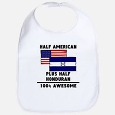 Half Honduran 100% Awesome Bib