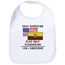 Half Ecuadorian 100% Awesome Bib