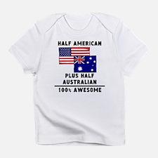 Half Australian 100% Awesome Infant T-Shirt