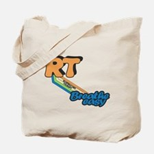 RT Respiratory Therapy Breathe Easy Tote Bag