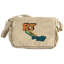 RT Respiratory Therapy Breathe Easy Messenger Bag