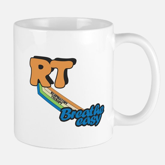 RT Respiratory Therapy Breathe Easy Mugs