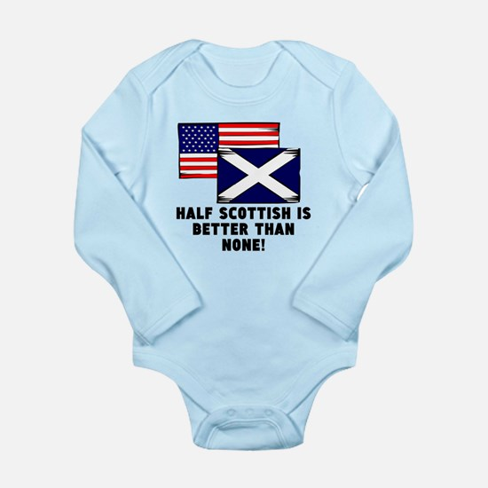 Half Scottish Body Suit