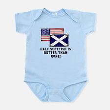 Half Scottish Body Suit