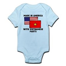 Made In America With Vietnamese Parts Body Suit