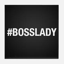 Hashtag Bosslady Tile Coaster
