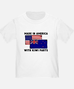 Made In America With Kiwi Parts T-Shirt