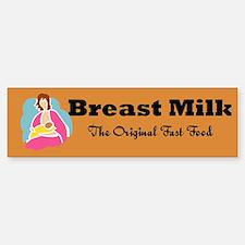 Breast Milk Bumper Bumper Bumper Sticker