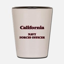 California Navy Forces Officer Shot Glass