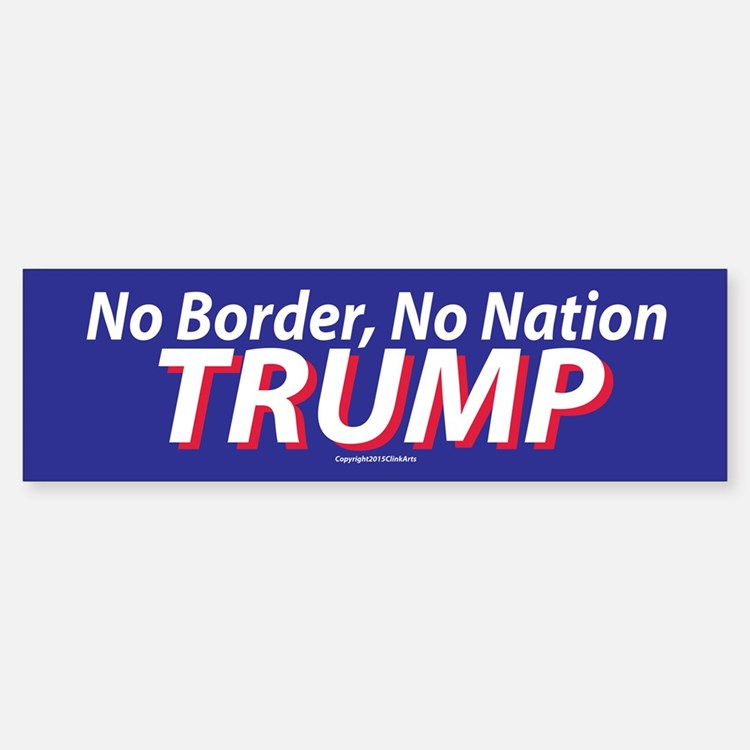 Trump Bumper Bumper Bumper Sticker