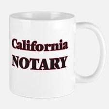 California Notary Mugs