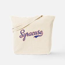 Syracuse Script Font VINTAGE Tote Bag