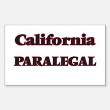 California Paralegal Decal