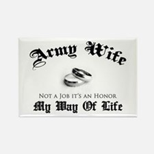 Army Wife: It's an Honor Rectangle Magnet