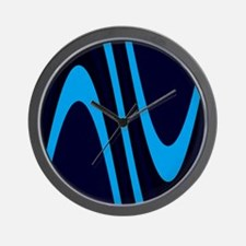 Chic Sophisticated Wave Stanley's Fave Wall Clock