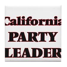 California Party Leader Tile Coaster