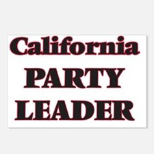 California Party Leader Postcards (Package of 8)