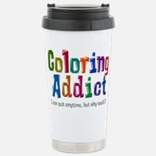 Coloring Addict Travel Mug