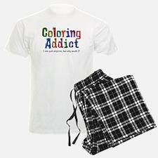 Coloring Addict Pajamas