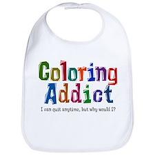 Coloring Addict Bib