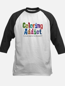 Coloring Addict Baseball Jersey