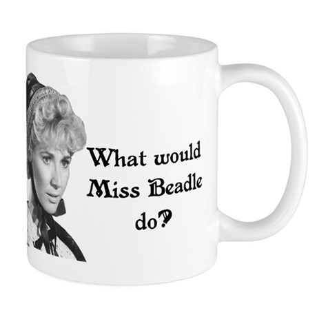 What Would Miss B (b&w) Mug