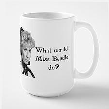 What Would Miss B (b&w) Large Mug