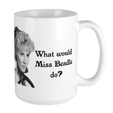 What Would Miss B (b&w) Coffee Mug