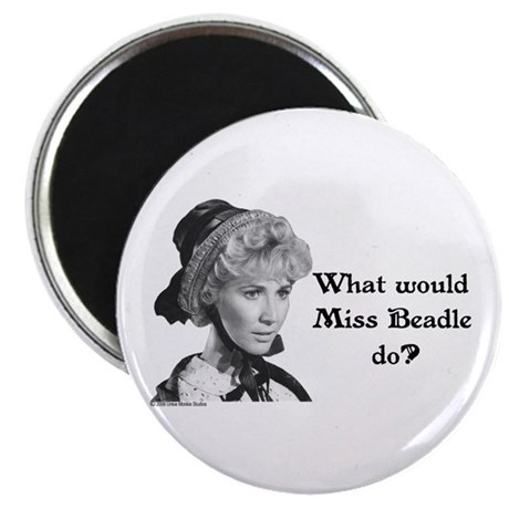What Would Miss B (b&w) Magnet