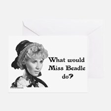 What Would Miss B (b&w) Greeting Card