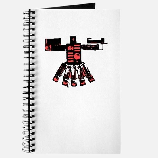 Sculpture Red Journal
