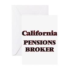 California Pensions Broker Greeting Cards