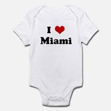 I Love Miami Infant Bodysuit